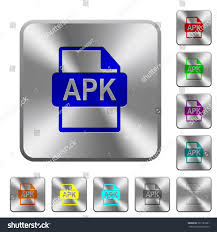 what is apk file format apk file format engraved icons on stock vector 727183381