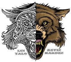 tribal wolf designs best designs