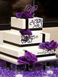 wedding cake sederhana wedding cake purple
