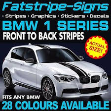 bmw car signs bmw 1 series stripes car vinyl graphics decals stickers coupe 1 5