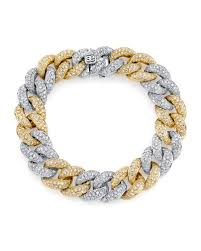 gold tone chain link bracelet images Gold link chain bracelet neiman marcus jpg