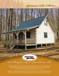 honest abe log homes sportsman cabin plans by honest abe log