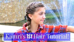 french twist into side braid kamri u0027s 1st tutorial youtube