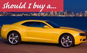 chevy camaro cheap for sale should i buy a used chevrolet camaro autoguide com