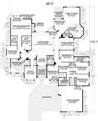7 Bedroom Floor Plans Country Style House Plans 7028 Square Foot Home 1 Story 7