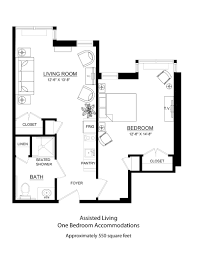 550 Square Feet Floor Plan by Our Lady Of Hope
