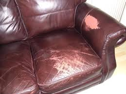 How To Repair Scratched Leather Sofa Repair Leather Sofa Singapore Tear Small In Furniture Scratched