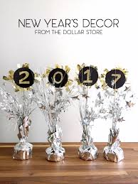 new year s decor dollar store new years decor 2017