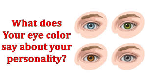 what does your eye color say about your personality take this