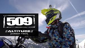 carbon fiber motocross helmets 509 carbon fiber altitude snowmobile helmet u2013 information youtube
