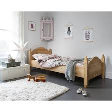 natural pine single bed frame u2014 derektime design creative ideas