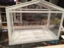 ikea socker greenhouse as the card box used silhouette cameo with