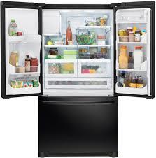 frigidaire glass door fridge frigidaire fghb2866pe 36 inch french door refrigerator with cool