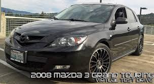 2008 mazda 3 grand touring hatchback virtual test drive youtube