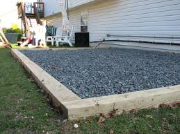 how to prepare your gravel shed pad sheds unlimited