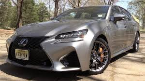 lexus gs f canada 2017 lexus gs f start up road test u0026 in depth review youtube