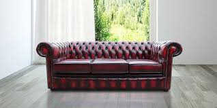 Vintage Leather Chesterfield Sofa Designersofas4u Buy 3 Seat Oxblood Leather Chesterfield