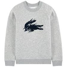 siege social lacoste logo sweatshirt lacoste for boys melijoe com