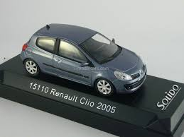 clio renault 2005 model cars renault clio 2005 3 porte 3 doors solido 1 43