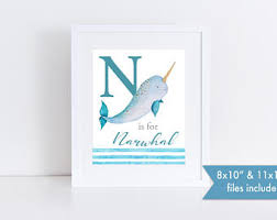 narwhal etsy