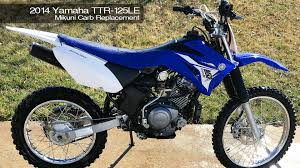 basherdesigns howto 2014 yamaha ttr125 carb swap