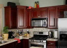 Best Kitchen Ideas Images On Pinterest Kitchen Ideas Cherry - Cherry cabinet kitchen designs
