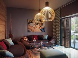 modern living room designs complete with perfect lighting and