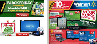 walmart black friday 2012 sales ad leaked walmart thanksgiving