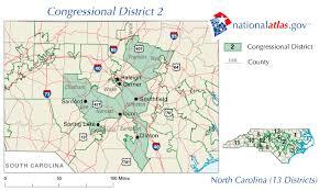 carolina district 2 map and representative 112th congress