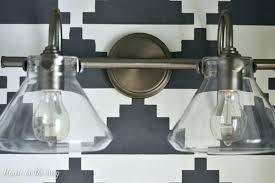 Industrial Bathroom Lights Industrial Bathroom Lights 4 Light Vanity Fixture Industrial