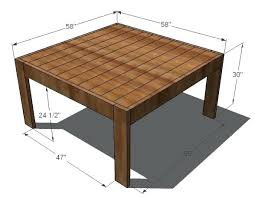 How To Build Farm Table by How To Build Dining Table U2013 Thelt Co