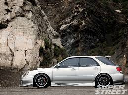 subaru turbo wagon 2005 subaru wrx wagon the transporter super street magazine