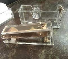 Acrylic Desk Accessories Desk Set With Acrylic Desk Accessories Desk Pad Desk Blotter