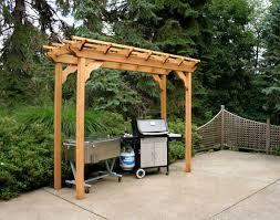 wood pergolas perfect arbors creekvine designs cedar new dawn pergola perfect arbors 6