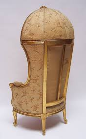 Louis 15th Chairs French Hooded Chair French 19th 20th Century Louis Xv Style
