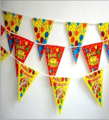 happy birthday party home decorations supplies for kids kids
