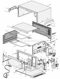 Kitchenaid Toaster Oven Parts List Delonghi Do1289 Parts List And Diagram Ereplacementparts Com