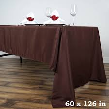 wedding table linens for sale 60 x 126 polyester rectangular tablecloth wedding catering table