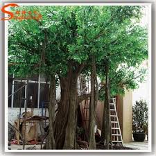outdoor artificial trees size big shade trees factory