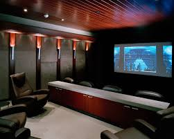 home theater chaise home theater contemporary with paneled ceiling