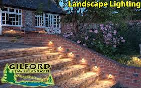 landscape lighting gilford landscape