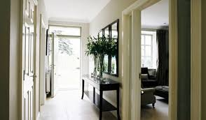 Hallway Table And Mirror Outstanding Extra Long Hallway Table Below Tall Thin Glass Flower