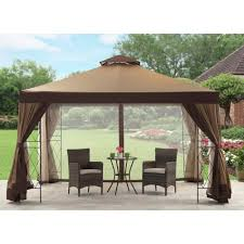 Outdoor Gazebo Curtains by Outdoor Backyard Canopy Gazebo Home Depot Canopy Tent 10x10