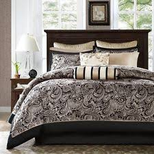Black And White Paisley Comforter Paisley Bed In A Bag Ebay