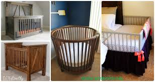 Free Cradle Furniture Plans by Diy Baby Crib Projects Free Plans U0026 Instructions