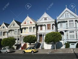 Victorian House San Francisco by Traditional Victorian Homes In San Francisco Stock Photo Picture