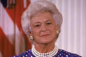 george h w bush date of birth barbara bush first lady wife of george h w bush