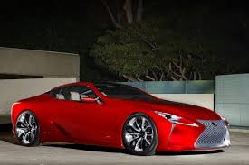 lexus concept lf lc lexus lf lc could see life as 600hp mercedes fighter