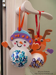 5 easy christmas crafts with children et speaks from home