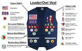 girl scout ribbon uniforms